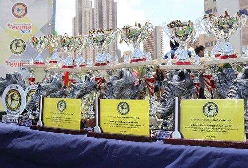MBCUP - Trofeos